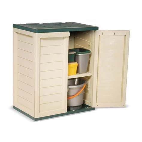 small outdoor storage closet small plastic storage cabinet plastic garden storage