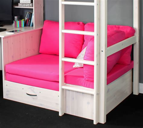 high sleeper bed hit 7 high sleeper bed with pink chair bed