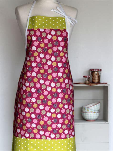 tablier femme cuisine tablier de cuisine femme frutti creacoton