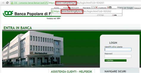 popolare servizi by web variazione indirizzo web servizio banking