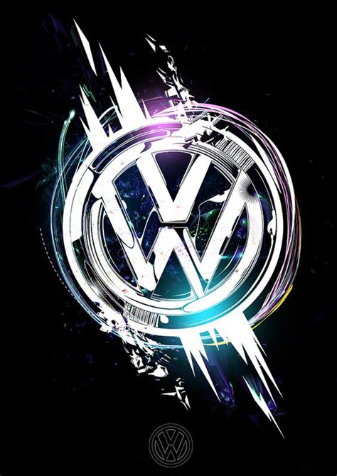 sweet take on the vw logo logos pinterest galleries