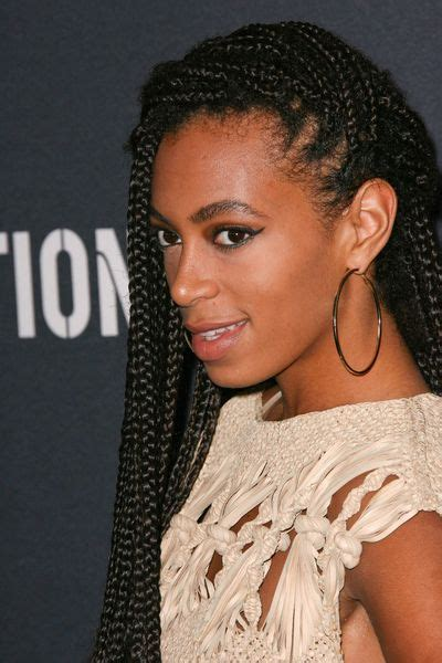 Solange Knowles Hairstyles by Solange Knowles Braided Hairstyle Hair And