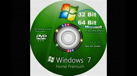 windows 7 home premium 32 bit and 64 bit iso