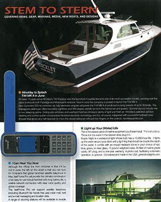 southern boating magazine southern boating magazine may 2010 hinckley yachts