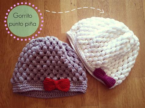 gorros de crochet gorro de ganchillo f 225 cil punto pi 241 a crochet hat puff