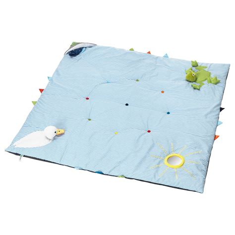 Play Mat For by Leka Play Mat Blue 118x118 Cm