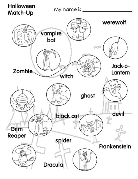 printable children s halloween activities halloween colorings