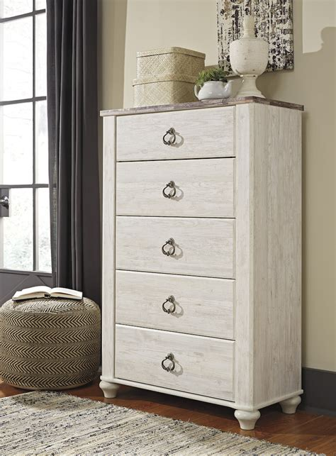 ashley willowton collection  bedroom set