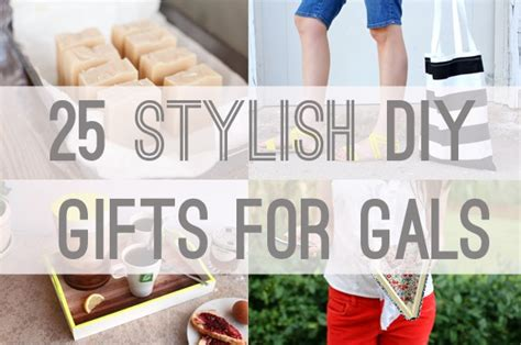 25 stylish diy gifts for gals helloglow co