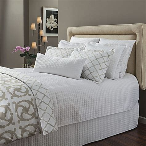 white quilted coverlet king buy downtown company urban quilted cotton king coverlet in