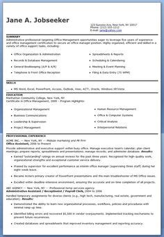 sles of resumes for administrative assistant administrative assistant resume exle free admin