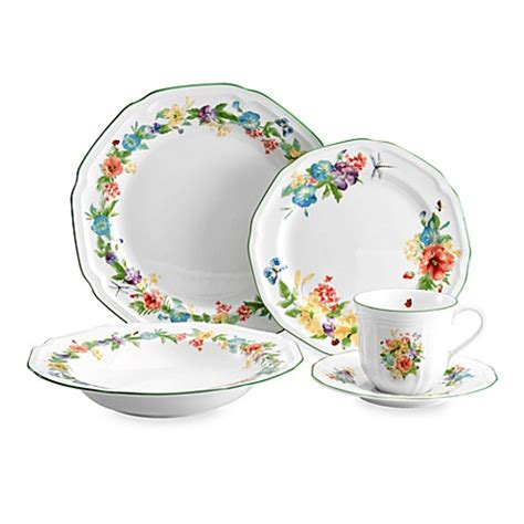 bed bath and beyond dinnerware mikasa 174 antique garden dinnerware bed bath beyond