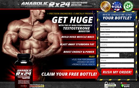 Testoterone Booster Anabolic Rx 24 Original anabolic rx24 the best and safe way to raise testosterone