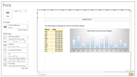 print excel worksheets on one page print a worksheet in landscape or portrait orientation
