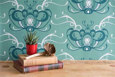 house wallpaper design narrative inspired wallpaper designs by grow house grow the design sheppard