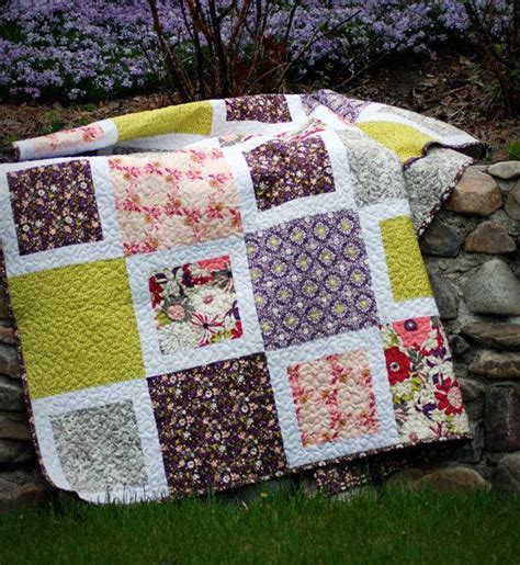 easy block quilt quilts