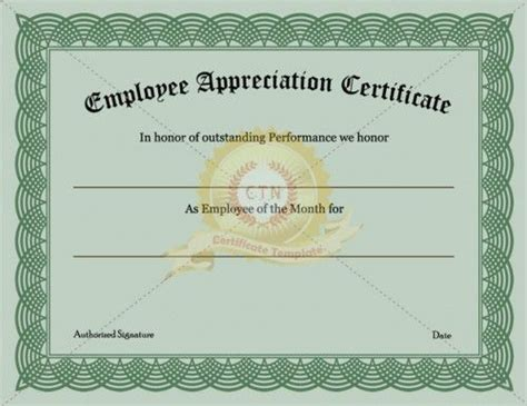 21 best images about appreciation certificate on pinterest