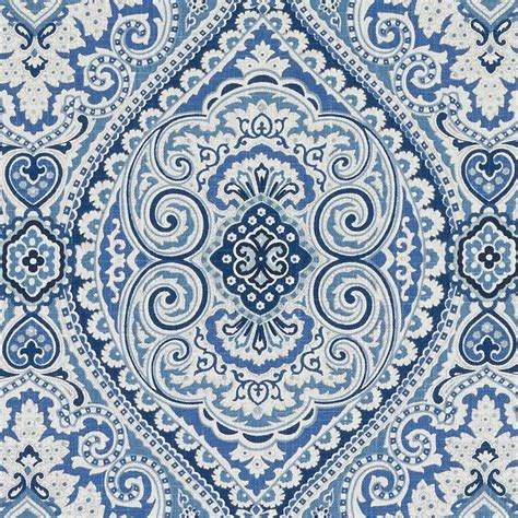medallion upholstery fabric navy blue medallion upholstery fabric navy white paisley