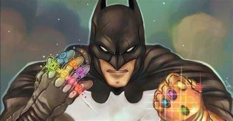 batman gauntlet tattoo dc comics does the impossible batman wears the infinity