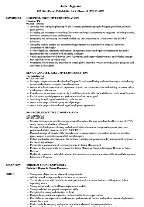 Compensation And Benefits Manager Cover Letter by Benefits Director Cover Letter Sle Resume For Assistant Professor