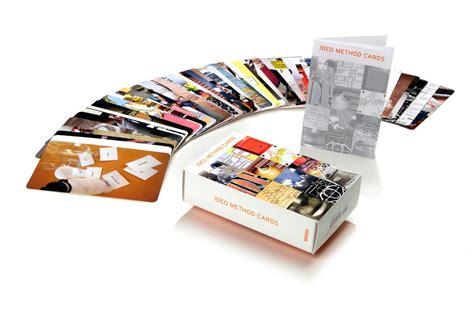 game design toolkit ideo method cards 51 ways to inspire design william