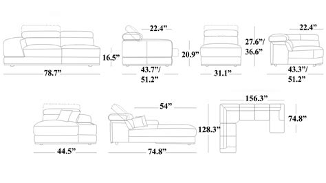 sectional sizes dimensions of sectional sofa sectional sofa sizes home