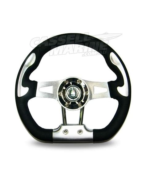 boat steering wheel adelaide autotechnica r10 leather steering wheel cassell marine