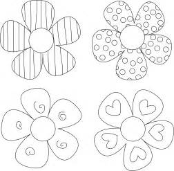 free craft templates to print flower template on
