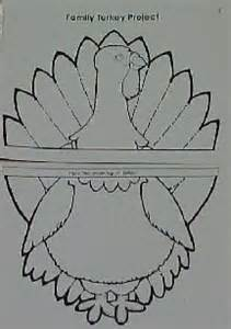 family turkey project template thanksgiving turkey cut out patterns 100 free patterns