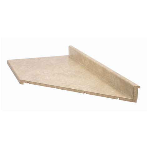 shop belanger laminate countertops 6 ft travertine