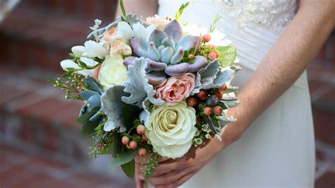 wedding flowers creating my first wedding bouquet youtube