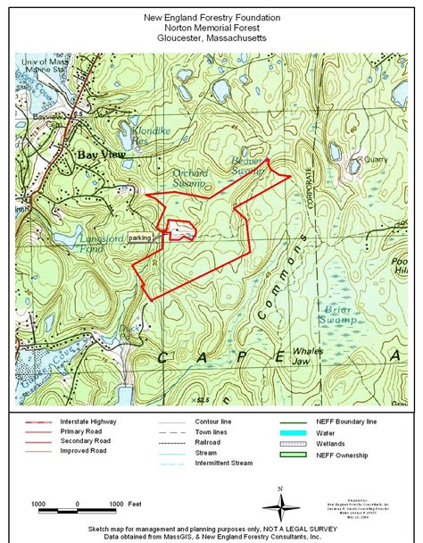 standard map norton standard map new forestry foundation