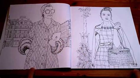 Look Fashion Coloring Book YouTube
