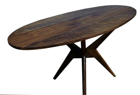 modern walnut dining table made walnut dining table modern kitchen table by