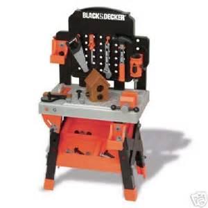 black and decker toddler tool bench black decker jr power workshop workbench tools