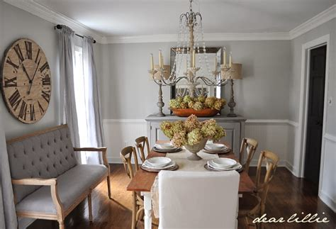 dear lillie dear lillie updated dining room
