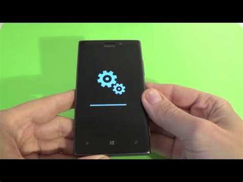 resetting a nokia lumia 925 nokia lumia 925 hard reset youtube