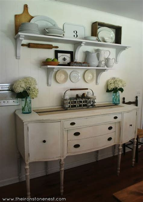 Farmhouse Dining Room Cabinet White Farmhouse Dining Room Farmhouse Dining Rooms