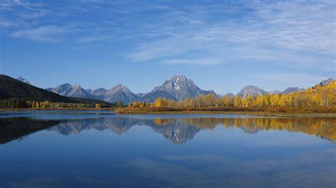 Mountain To Mountain wallpaper mountain range lake reflections mountains