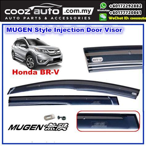 Honda Brv Br V Karpet Trunk Tray Khusus Bagasi honda brv br v mugen style anti uv light acrylic door visor