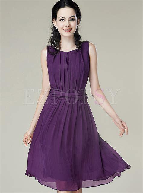 solid color dresses dresses skater dresses solid color ruffled silk dress