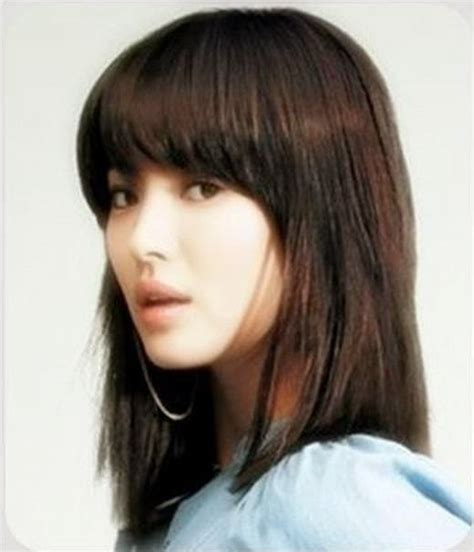 model rambut sebahu panjang  pendek