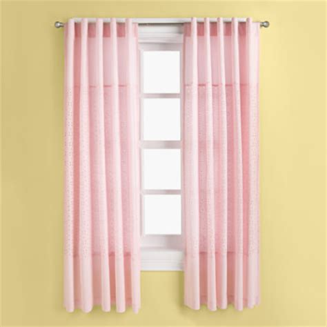 Pink Curtains For Baby Nursery Curtain Panel Pink Curtain Design