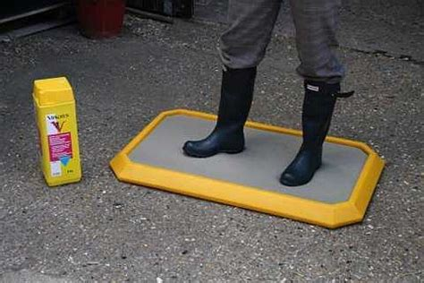 Disinfectant Mat by Large Personnel Disinfectant Mat Yellow Requisites
