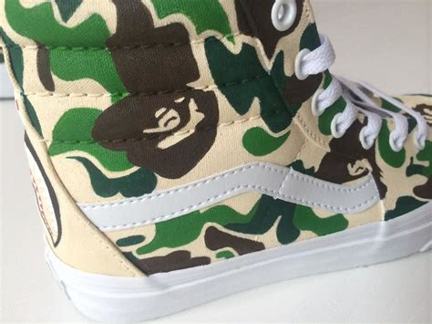 Xiaom Mi 4 Bape Shark Camo Pattern The Caver Hardcase custom bape sk8 hi by xtian chavez strictly waffles