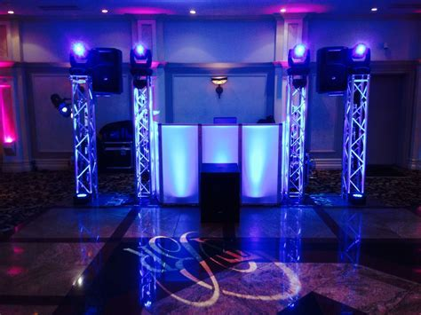 One of the DJ setups for our clients! Nice and clean #