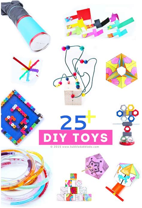 How To Make Paper Toys At Home - 25 diy toys to make at home babble dabble do