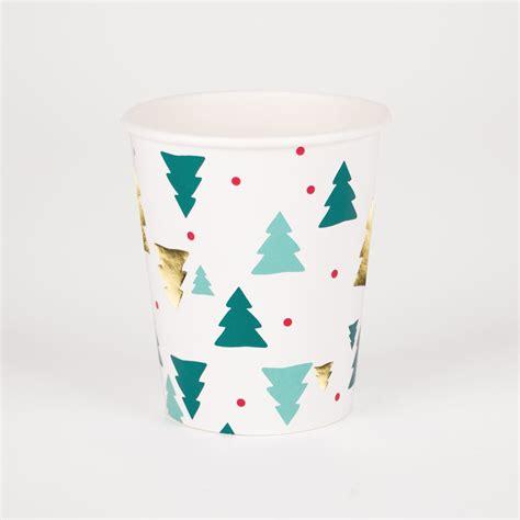 vasos arbol navidad comprar vasos 225 rbol de navidad 8 para decoraci 243 n de mesa para navidad fiestafacil tienda