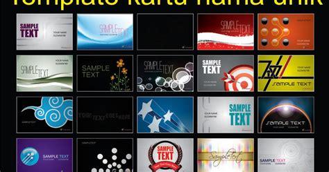 free software desain kartu nama template kartu nama unik pusat desain grafis