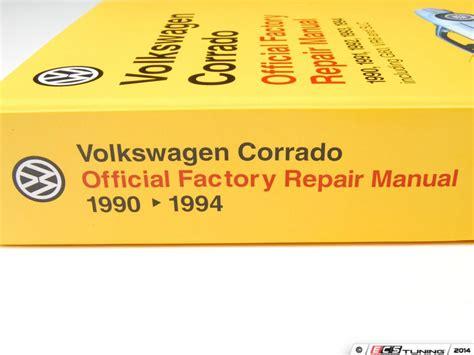 service and repair manuals 1994 volkswagen corrado instrument cluster service manual 1994 volkswagen corrado owners repair manual service manual remove maf sensor